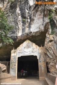 entrada templo Suwankhuha