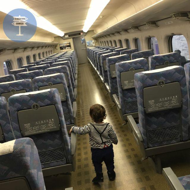 Dentro do Trem Bala