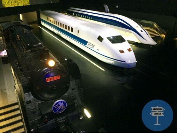 ScMaglev nagoya museu trem japao
