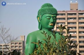 O grande Buda de Toganji emNagoya