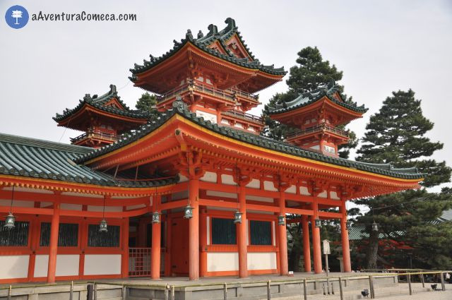 heian shrine kyoto