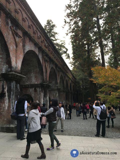 nanzenji aqueduto kyoto