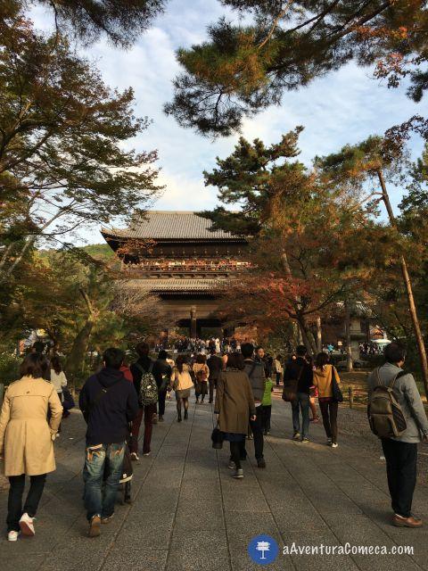 nanzenji sanmon kyoto japao