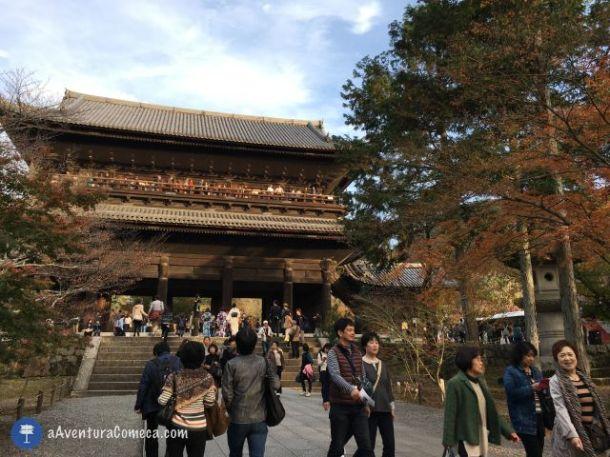 nanzenji templo kyoto japao sanmon
