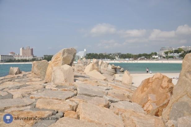 pedras praia shirahama wakayama japao