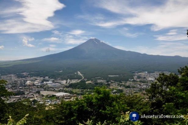 fujisan vista panoramica 360 japao
