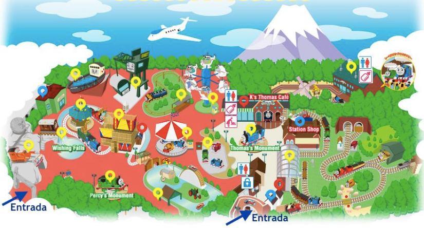 thomas land japao fuji mapa